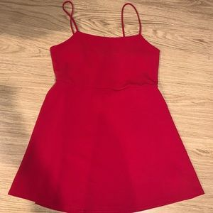Trendy Red Dress *never worn*